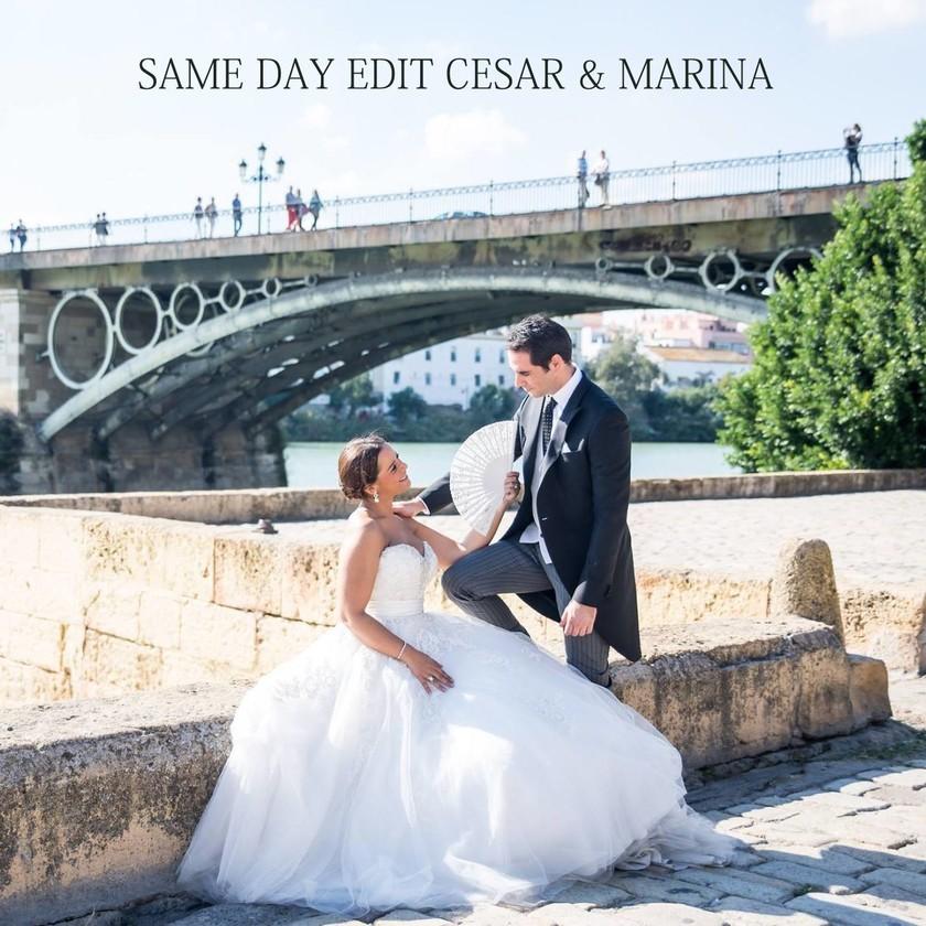 Same Day Edit | Cesar & Marina